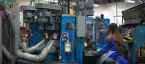 Globe Pipe Hanger Machine-530