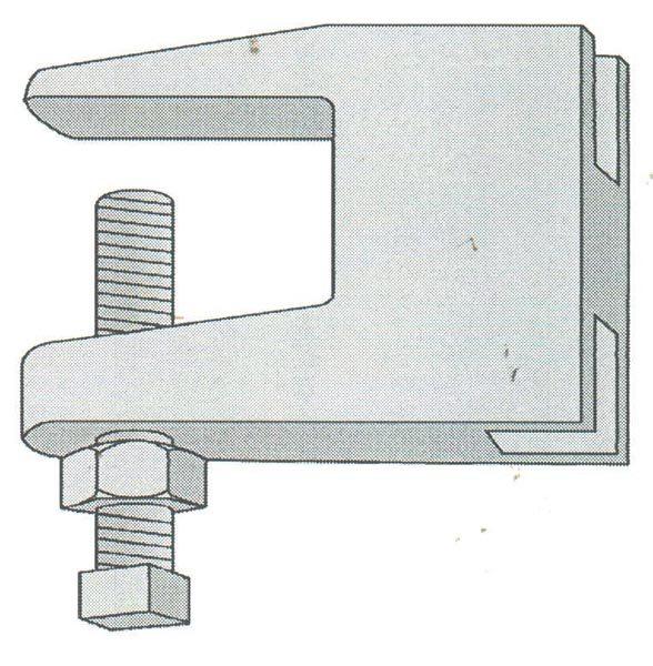 Series 100 Universal Beam Clamp #105 - 101 • Globe Pipe Hanger