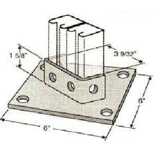 Diagonal Post Base GPB112