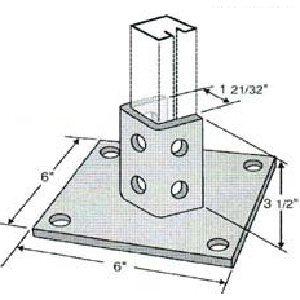 Diagonal Post Base GPB202