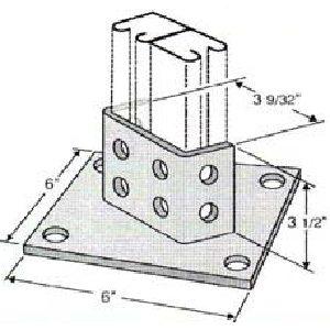 Diagonal Post Base GPB212