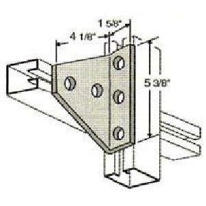 Five Hole Shelf Gusset Angle GAF540