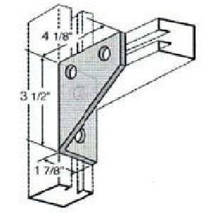 Four Hole Corner Gusset GAF422