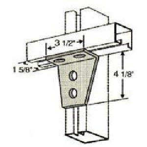Four Hole Gusset Angle GAF440