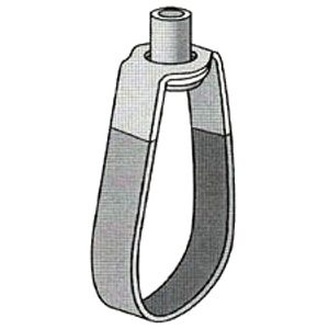 Series 303 Copper Tubing Swivel Ring - PVC Coated