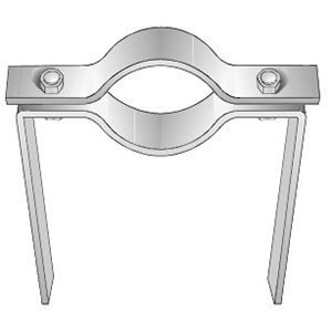 Series 505 Extended Pipe Clamp
