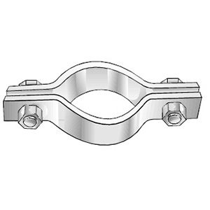 Series 550 Single Bolt Pipe Clamp