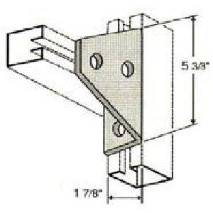 Three Hole Shelf Gusset Angle GAF441