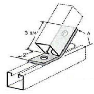 Two Hole Open Angle - GAF221
