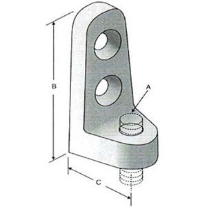 Series 720 Side Beam Connector