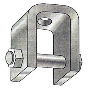 Series 724P Welded Beam Attachment with Pin
